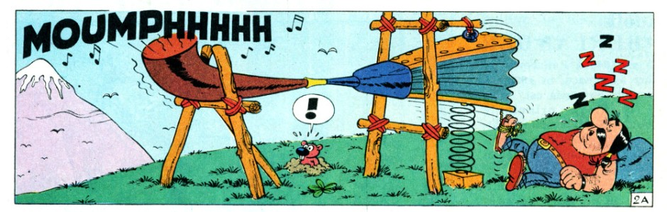 Hultrasson et les Scots - Remacle - Denis - Spirou n°1402 - 1965